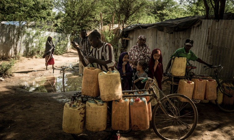 Fredy Nduinimana in Kakuma. Foto: Marius Münstermann